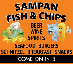 Udon Thani Resource Guide, Western Restaurants, Sampan Fish & Chips