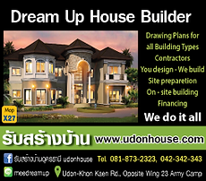 Udon Thani Business Index, House Construction, Dream Up House Builder