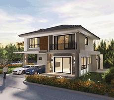Udon Thani Resource Guide, Housing Developments, Ban San Suk House