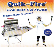 Udon Thani Business Index, Stainless Steel Barbecues, Quik-Fire Gas BBQs