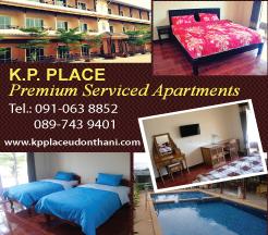 Udon Thani Businss Index, Udon Thani Accommodations, Udon Thani Serviced Apartments, K.P. Place, udonmap, udonguide, udonthanimap, udonthaniguide, udonmapclassifieds, udona2z, udonthaniclassifieds, udonthani, udonforum, udoninfo, expatinfoudonthani