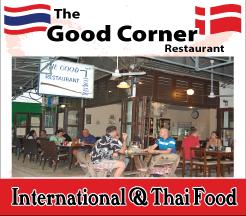 Udon Thani Resource Guide, Western Restaurants, Good Corner Restaurant