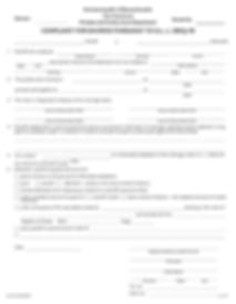Complaint for Divorce Pursuant to G.L. c
