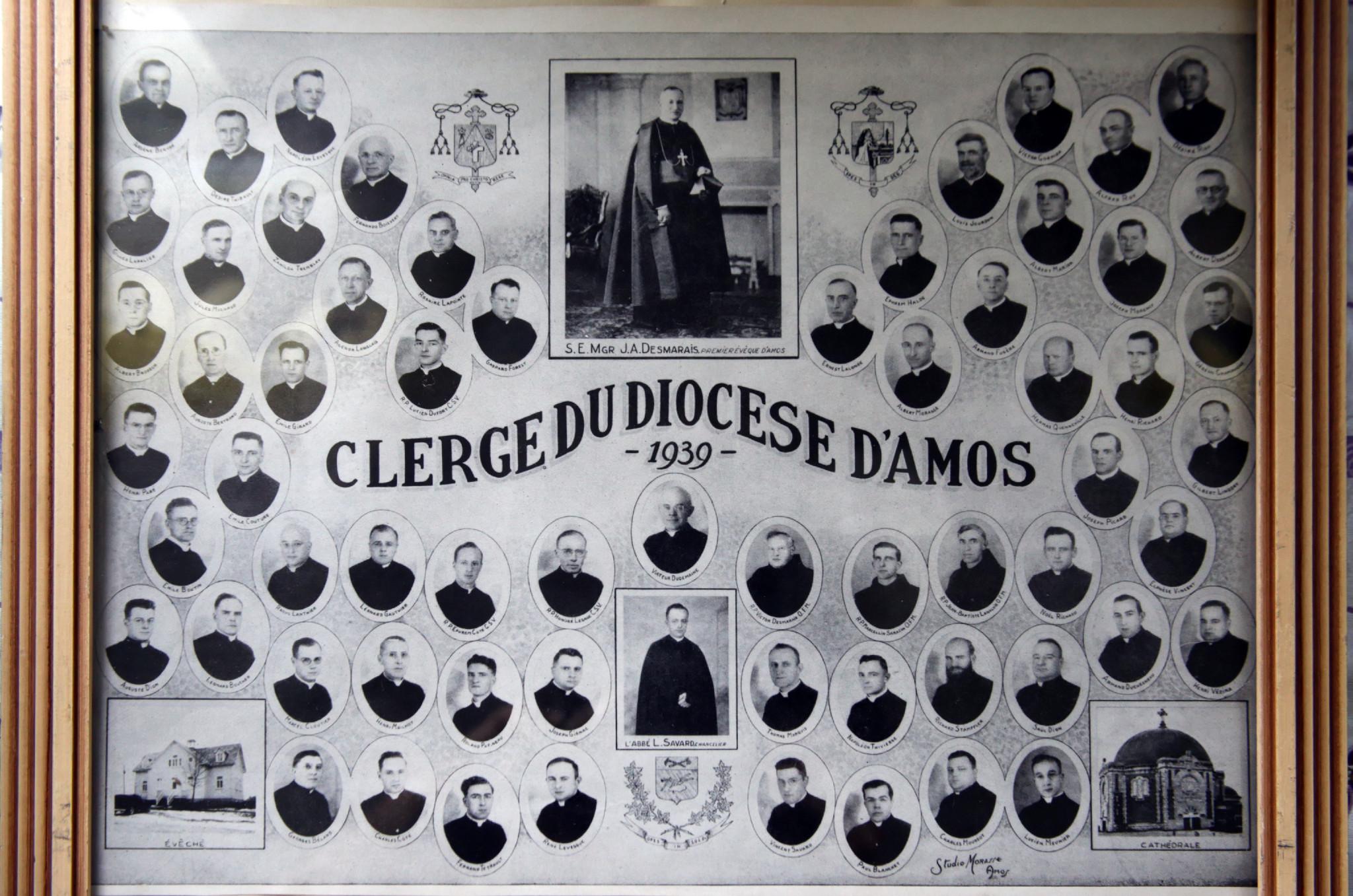 1939 Clerge Amos