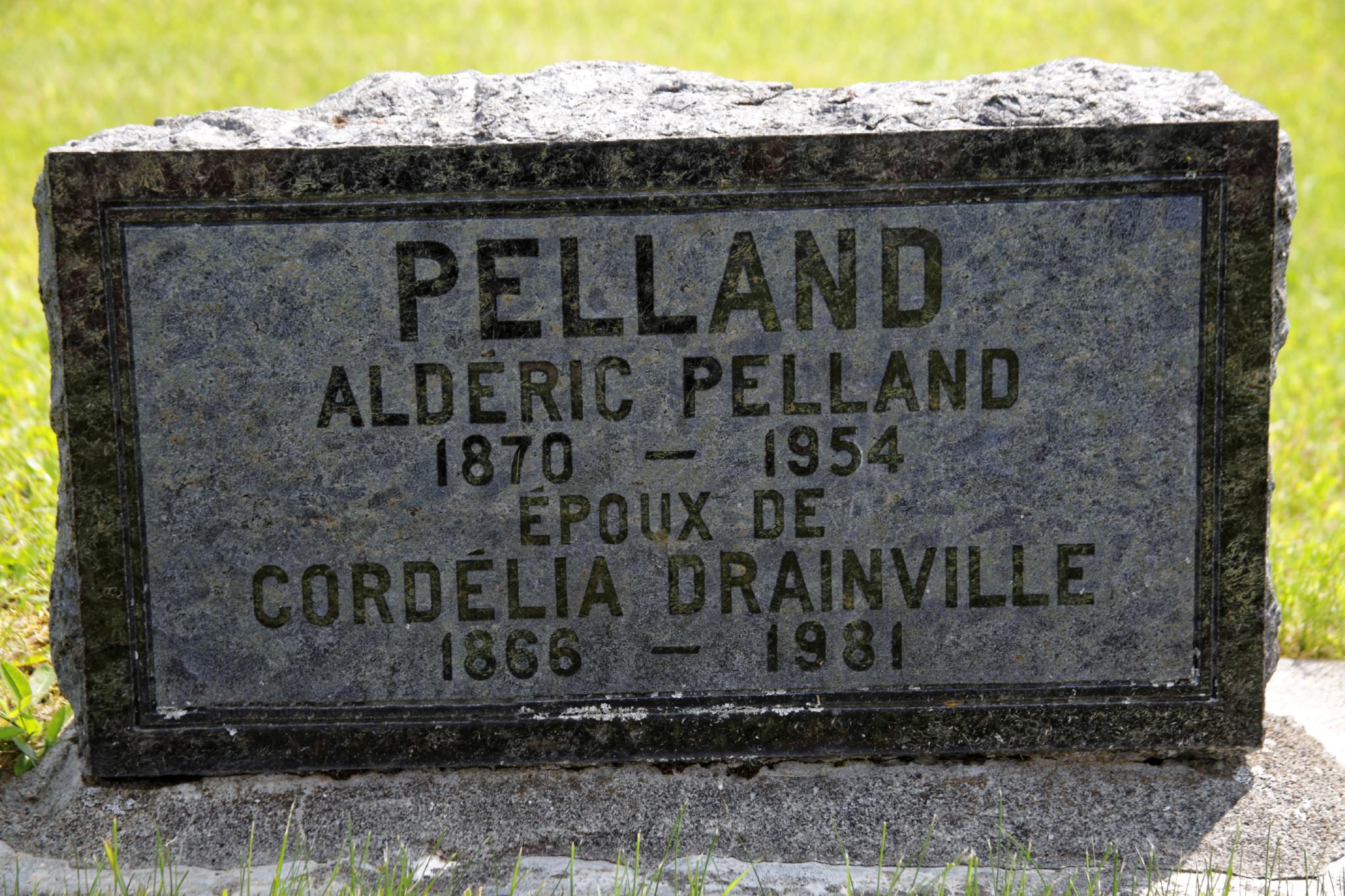Aldéric Pelland