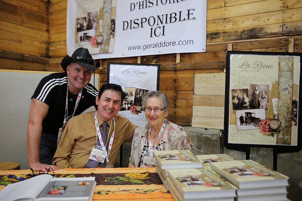 Gary Laliberté, Gérald Doré et Marie-Claire Piché