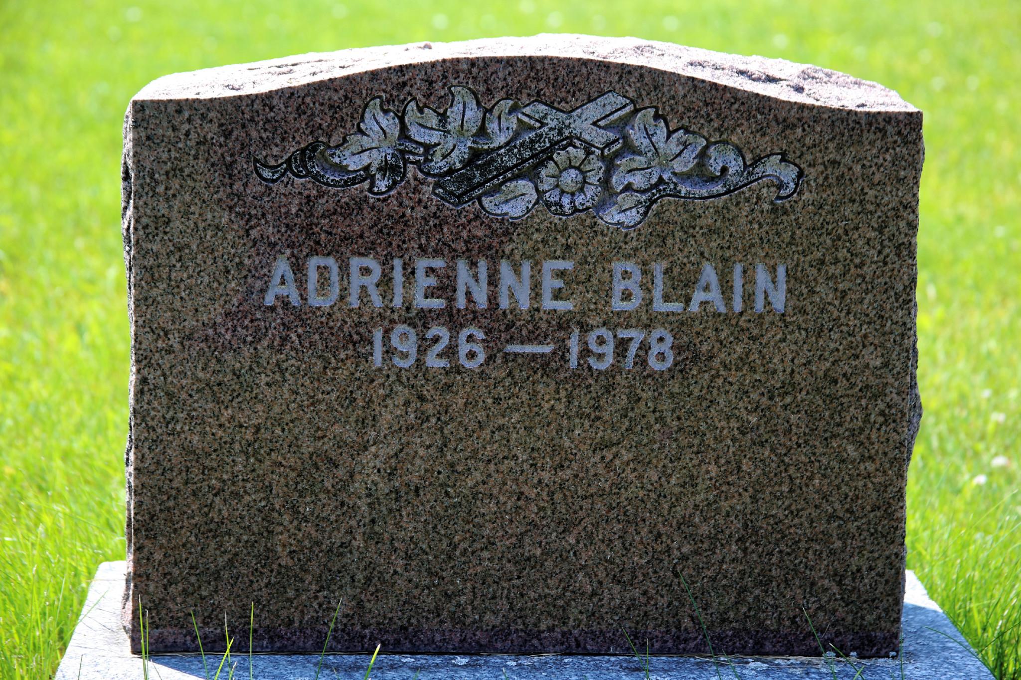 Adrienne Blain