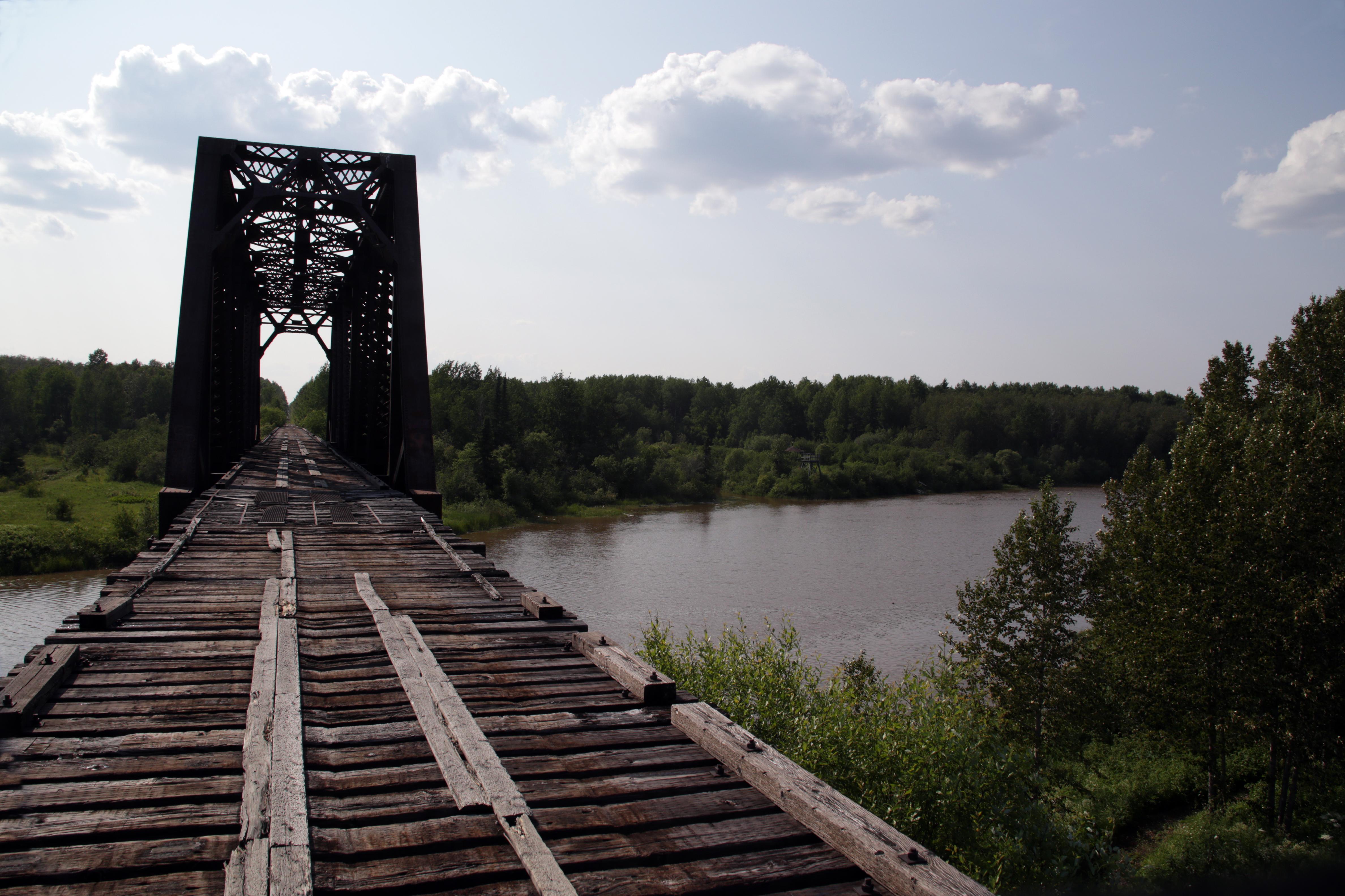 Pont de la rivière Okikodasik