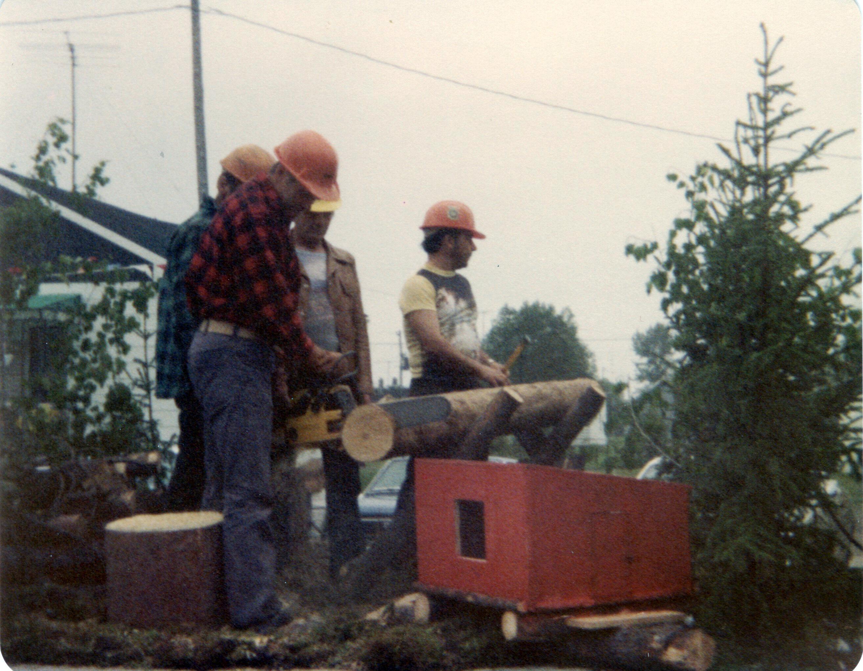 1977 - 60e - bucherons