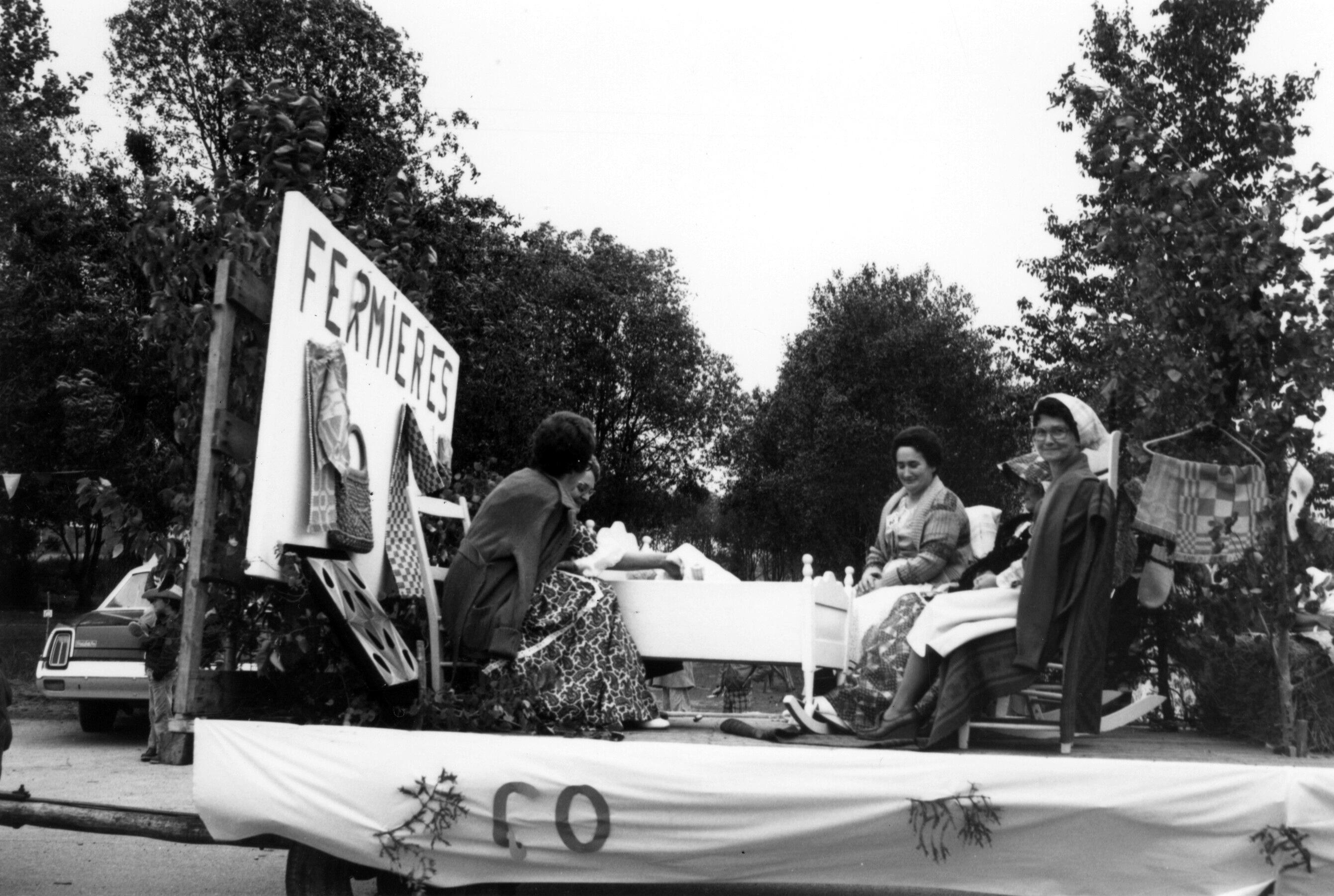 1977 - Char fermieres