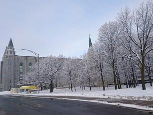 Déplacement à Québec