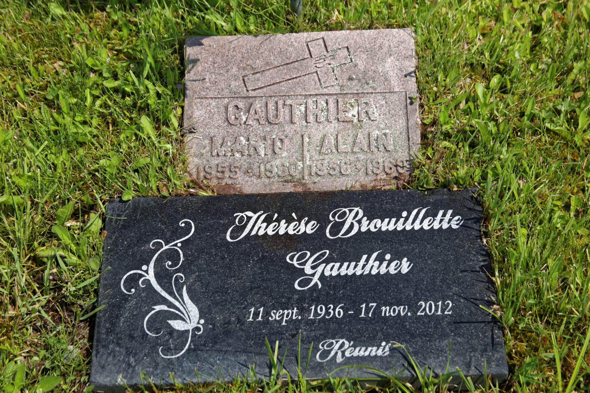 Thérèse Brouillette Gauthier