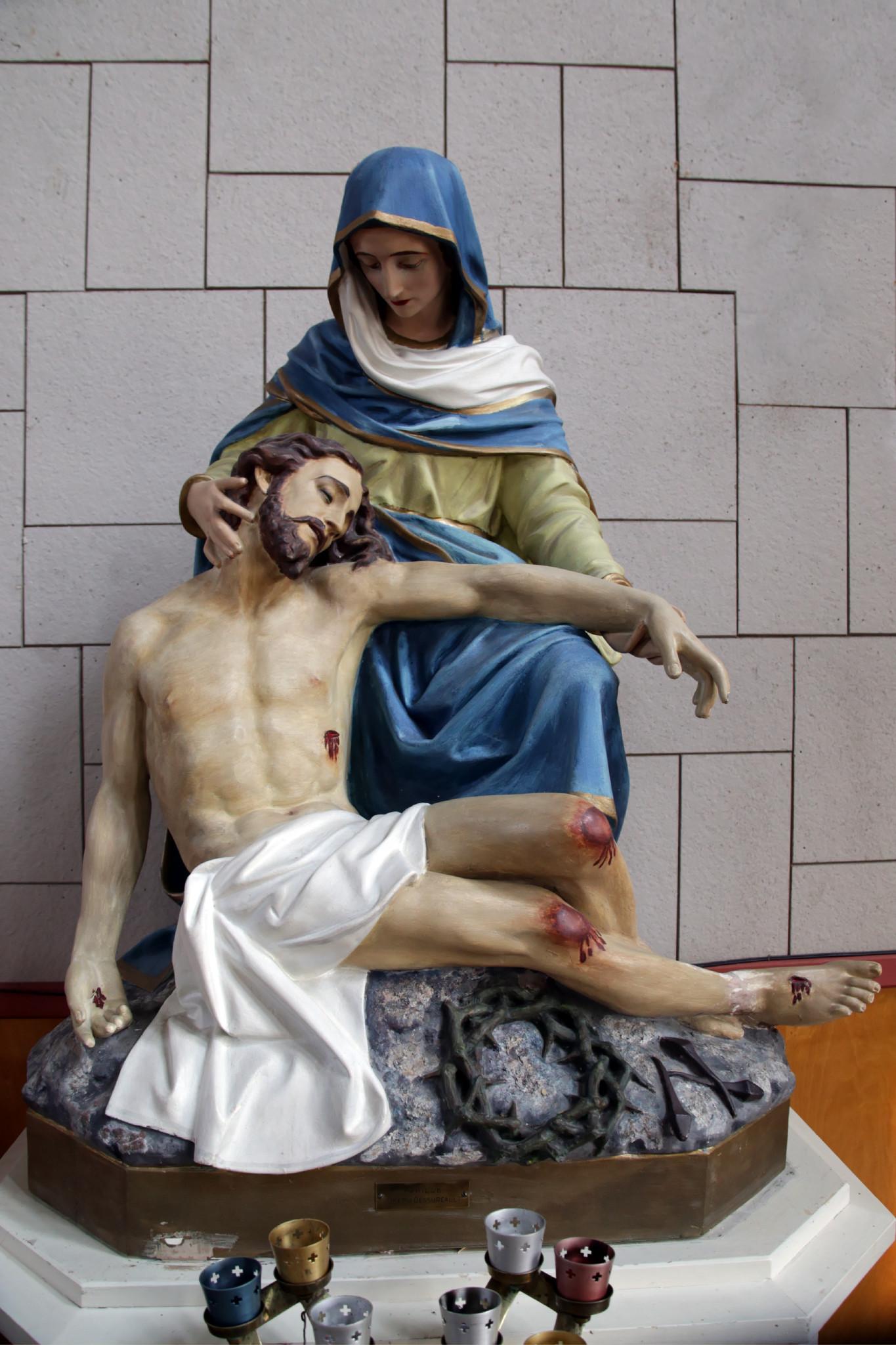 La vierge et Jésus
