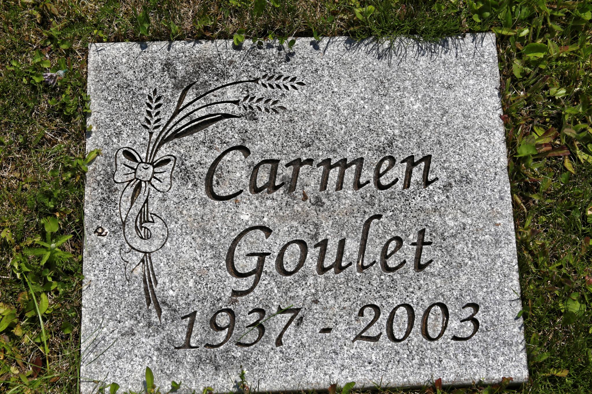 Carmen Goulet