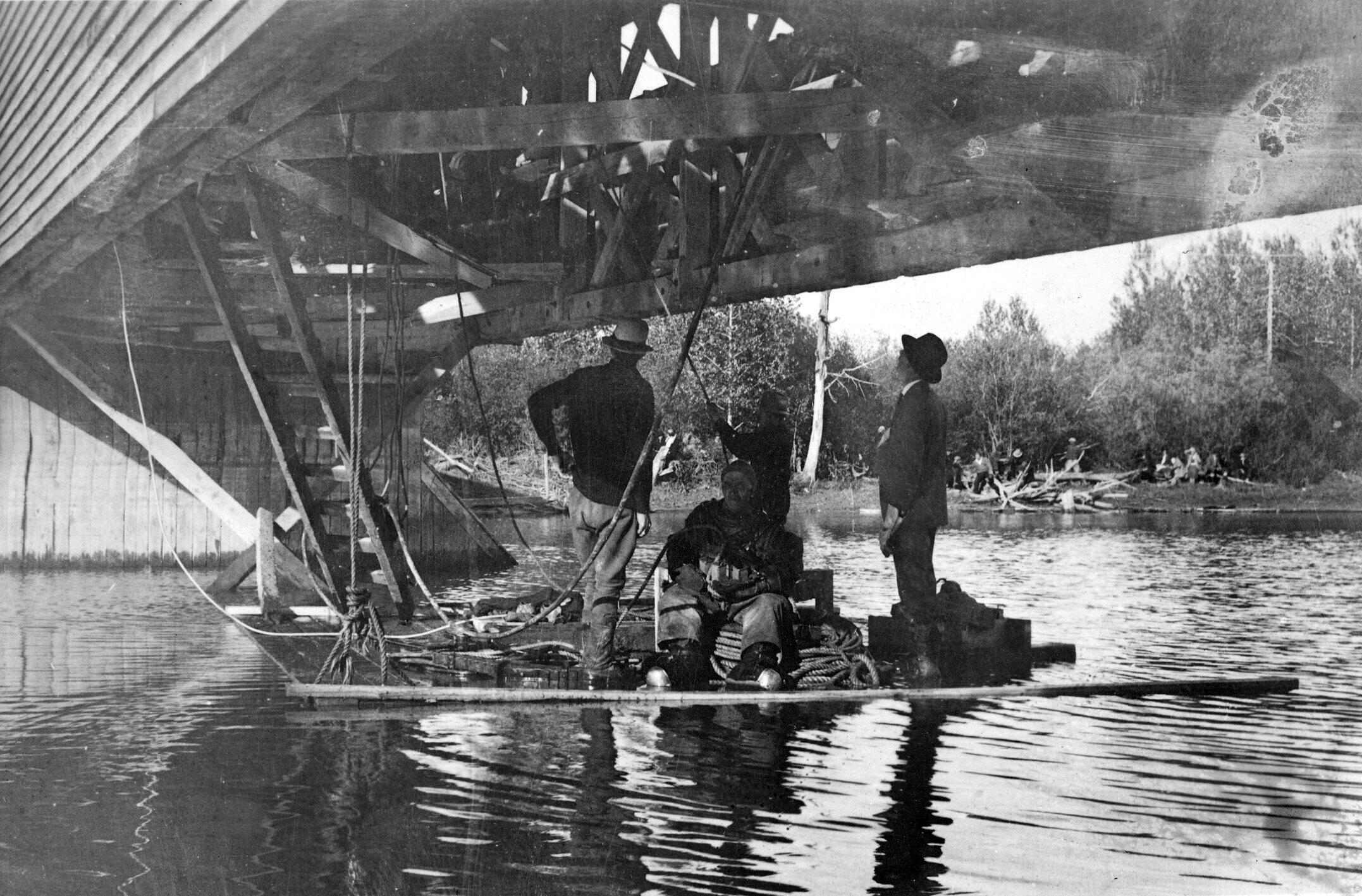 2 - Accident au pont de La Reine