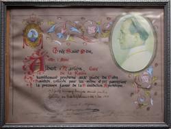 Bénédiction Apostolique 1er mai 1949