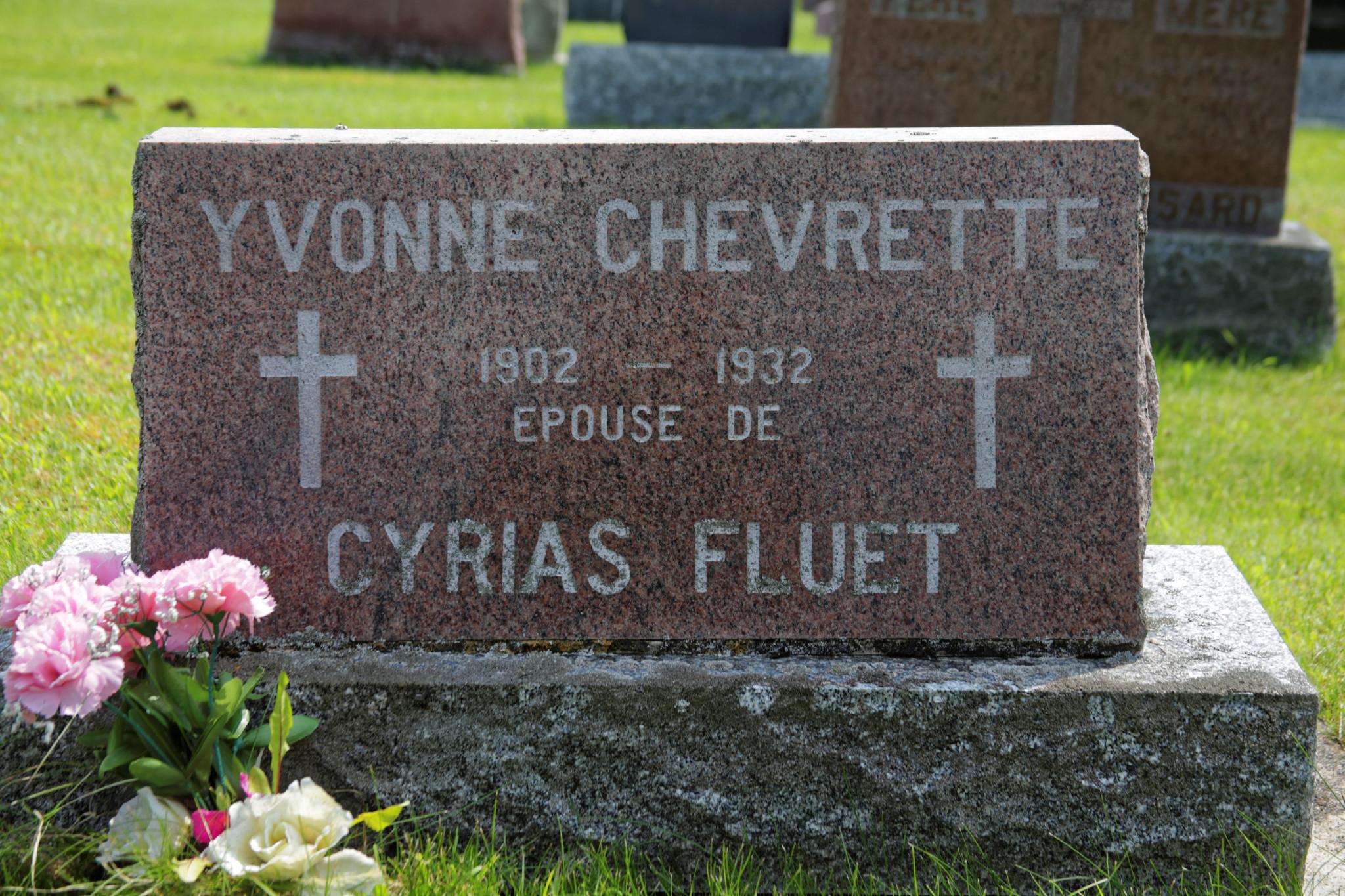 Yvonne Chevrette