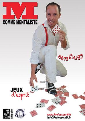"""SPECTACLE CLOSE-UP """"Jeux d'esprit"""""""