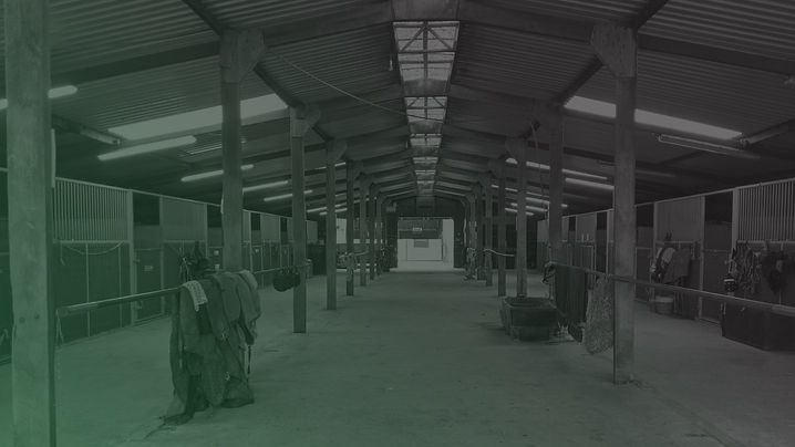 Faded image of the stables