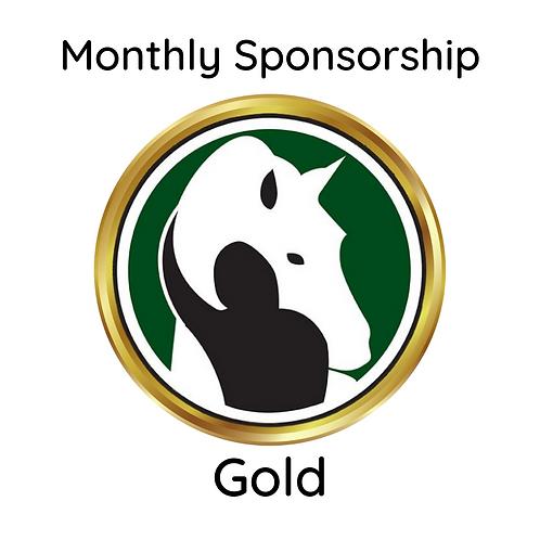 Monthly Gold Sponsorship