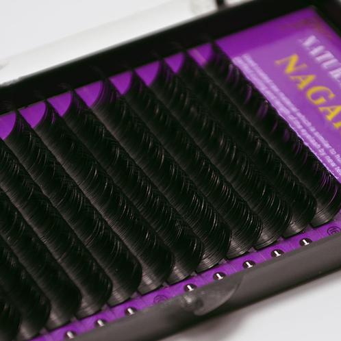 f29fe282b98 NAGARAKU 5 cases/lot High quality mink eyelash extension individual  eyelashes