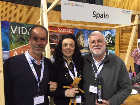 Presenting the OleoExt from the Villuercas UNESCO Global Geopark