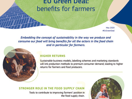 European Green Deal -Farm to Fork strategy