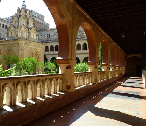 Mudéjar-style-cloister-Guadalupe-e142537