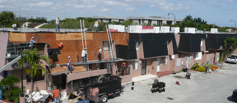 ASSOCIATION & MULTIFAMILY ROOFS