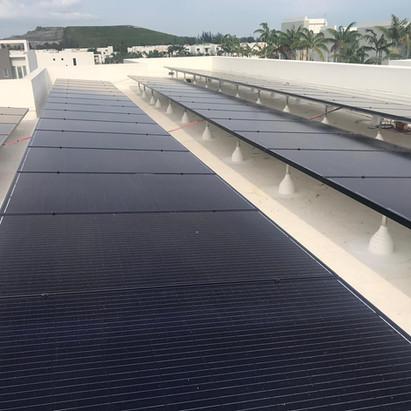 Solar System On TPO Roof