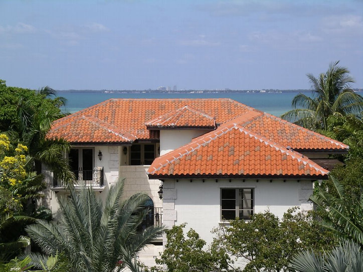 Spanish S Clay Roof Tile Blend