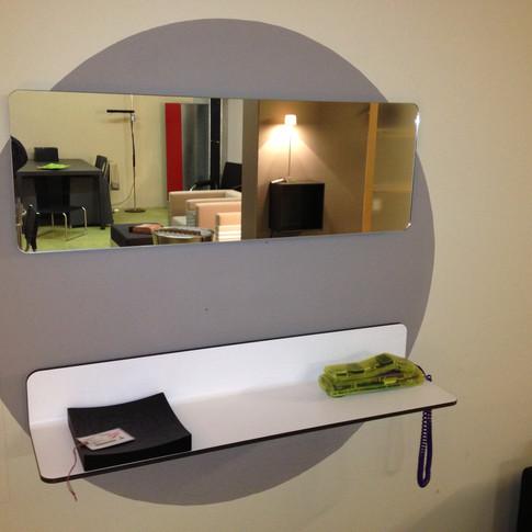 ante - spiegel und ablage