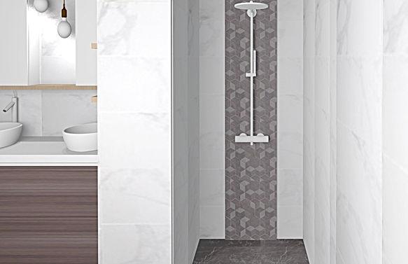 Décoration salle de bain Saint Maure des Fossés