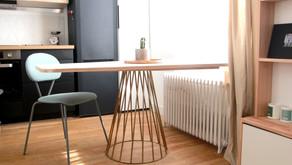 |DIY 1| Une table à manger sur mesure