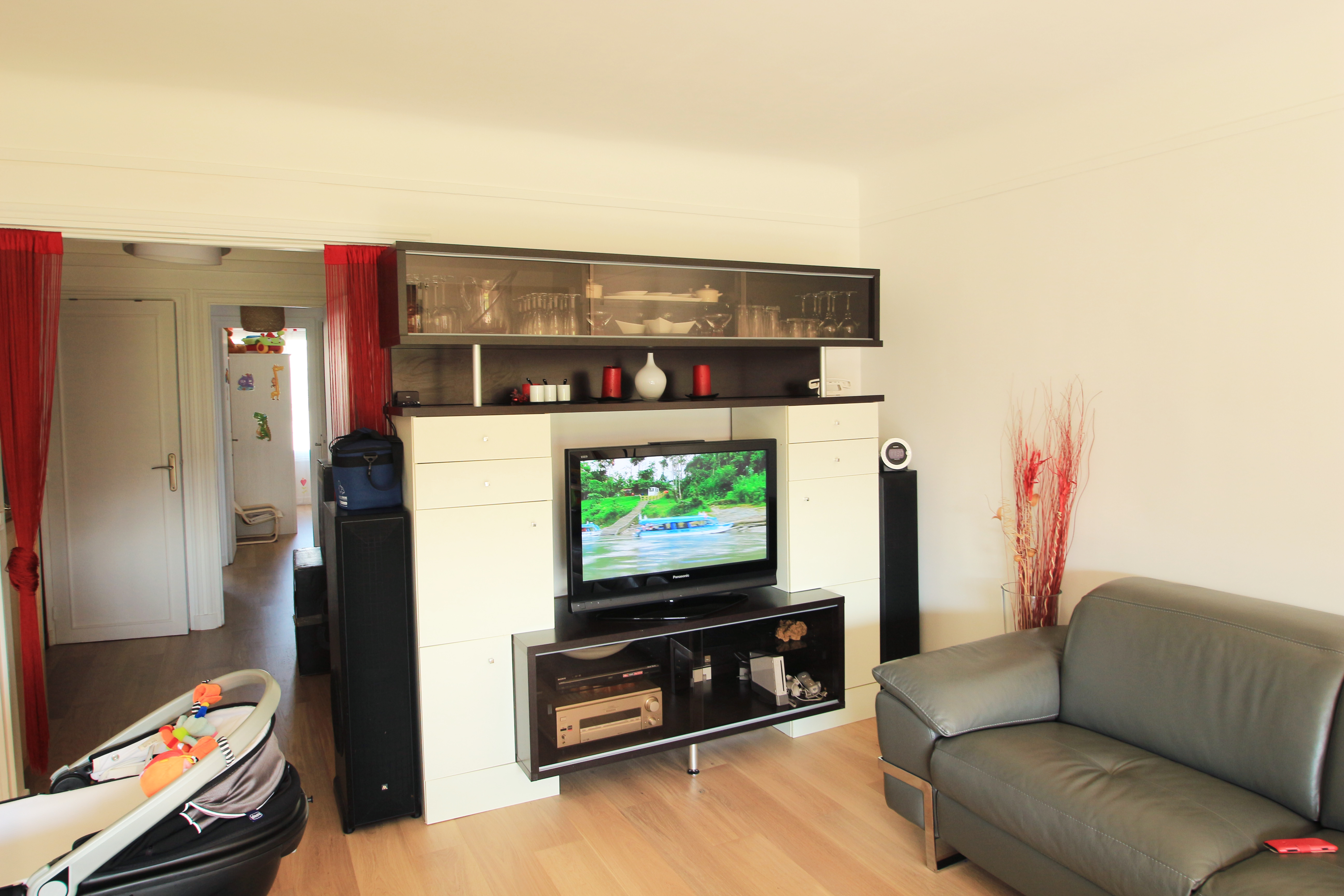 Meuble Tv En Coin meuble tv et bureau   jessie-deco