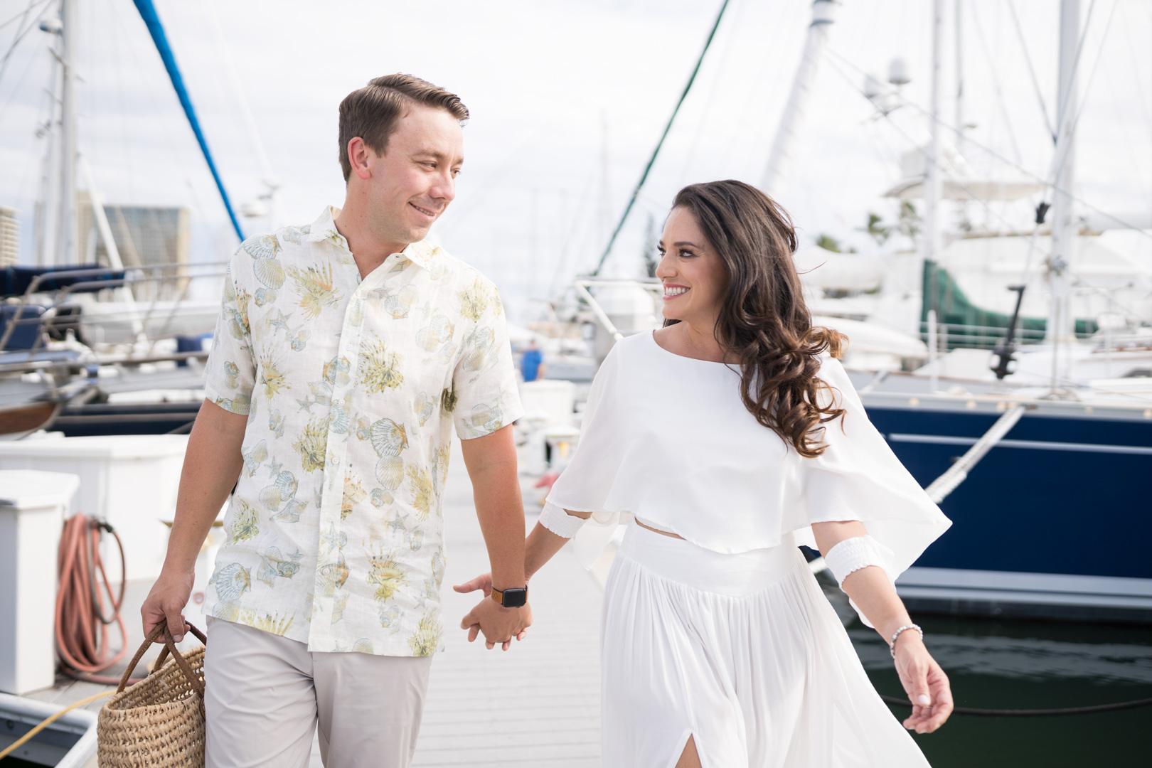 Engagement Sailing Boat, Hawaii-3