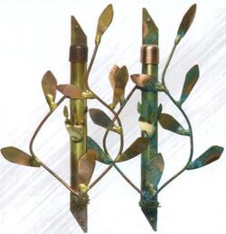 Leaf Mezzuzahs