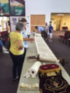 Torah Restore  at Temple Shalom of Central Florida