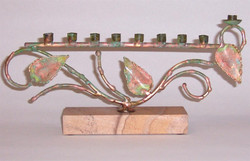 Temple Store J12 Candle Holder Leafs.JPG
