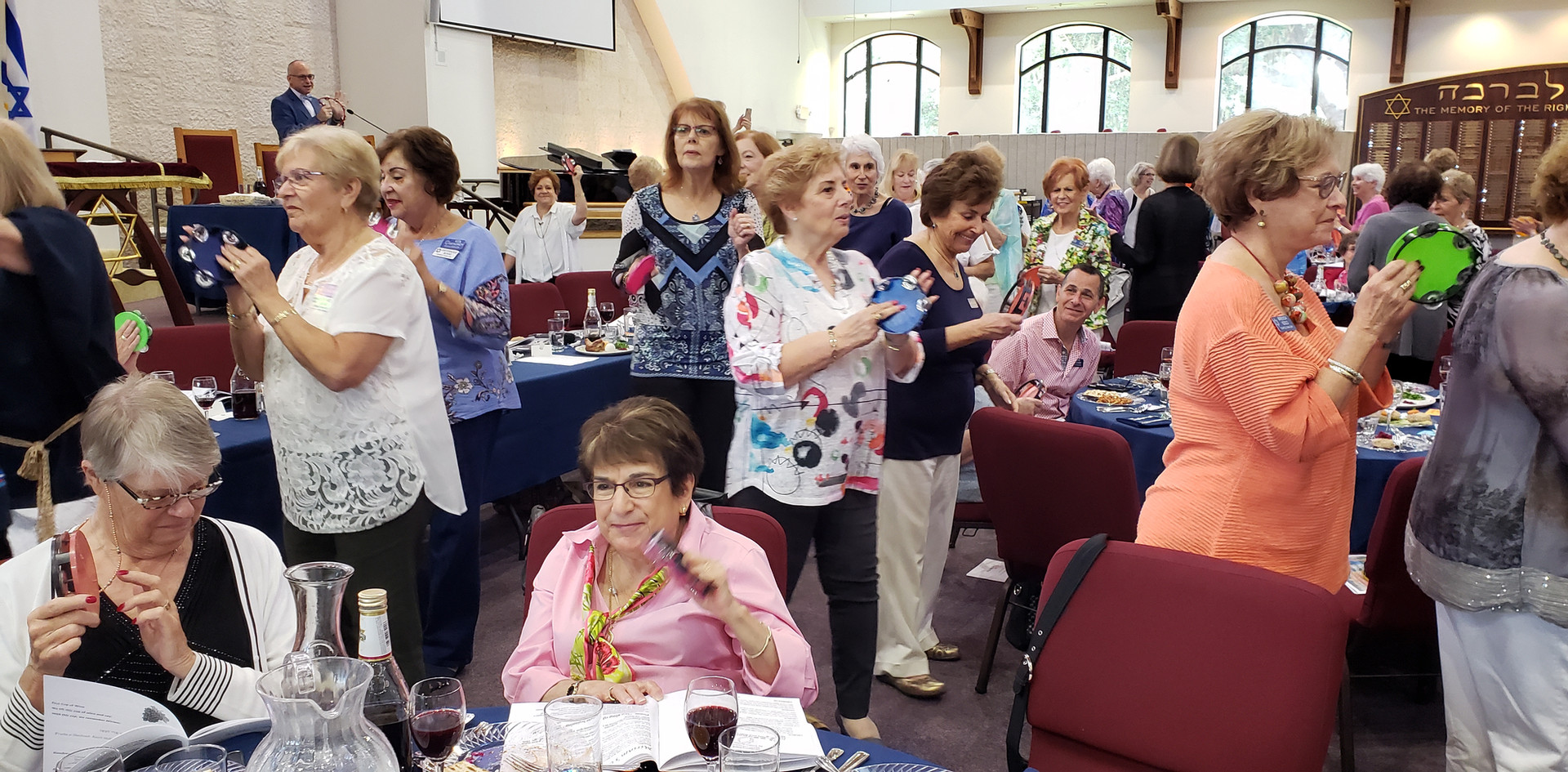 Dancing at Women's Seder