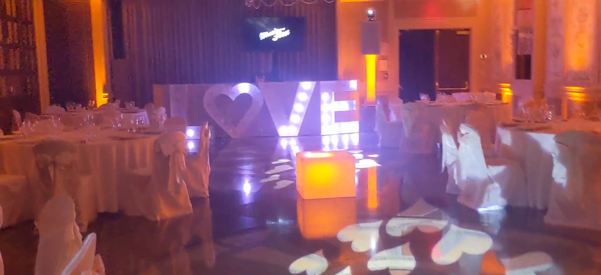 Love Booth & Uplights Video 2