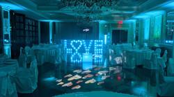 Vetro Murano Room Love Letters DJ Booth