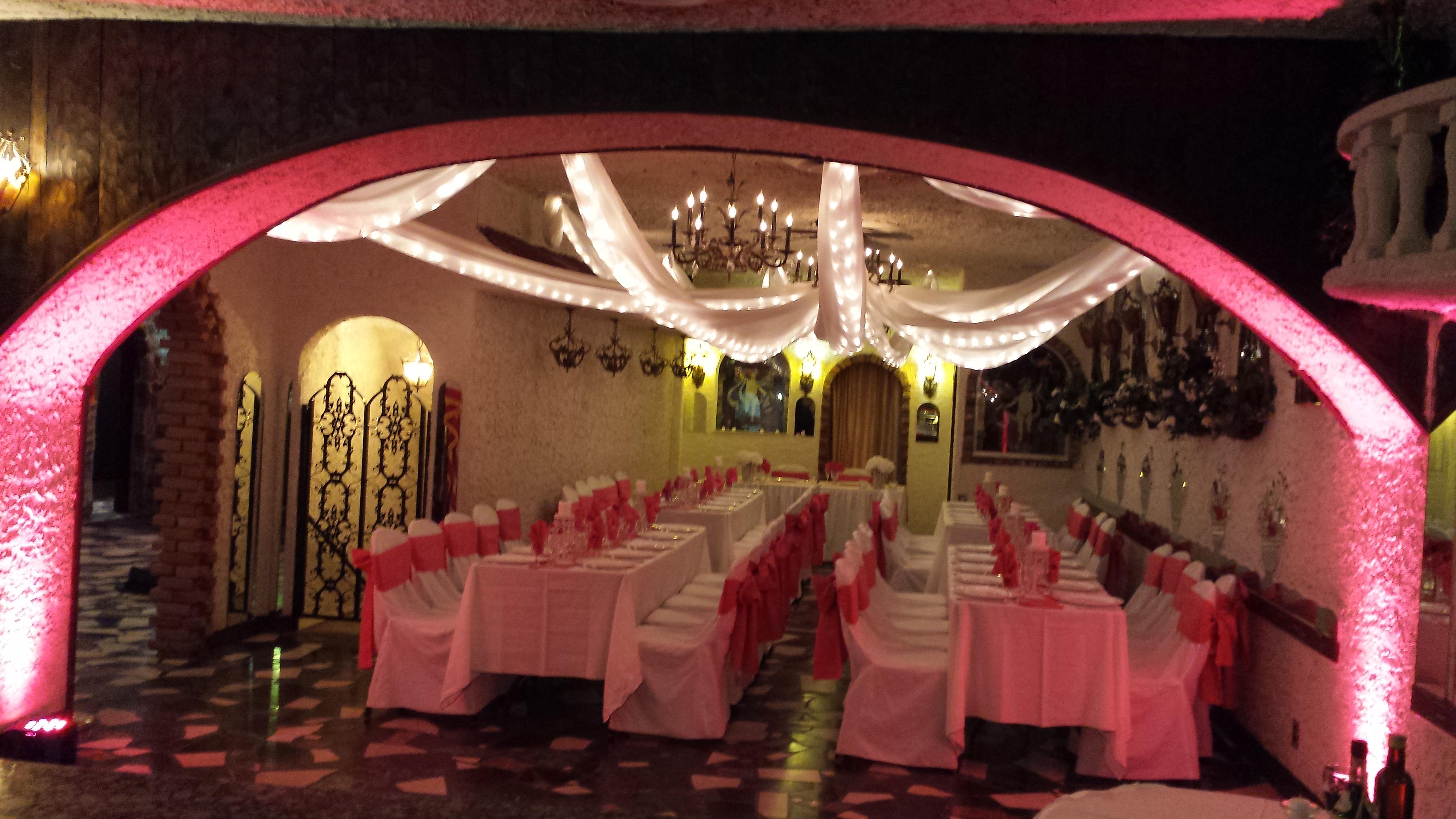 Villa Russo Party Room