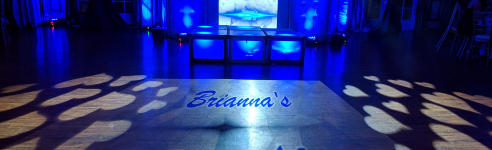 Deluxe Truss with Color Gobo