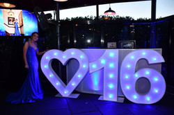 IL Bacco Rooftop Sweet 16 DJ Booth