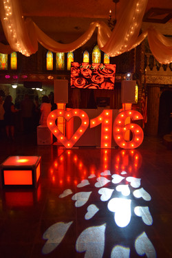 Villa Russo Grotto Sweet 16 DJ Booth