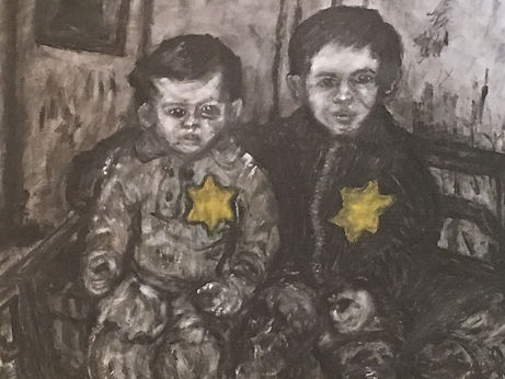 3 - Two young brothers in the Kovno ghet