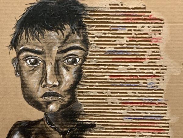 Angst: The Eyes of a Gypsy Boy