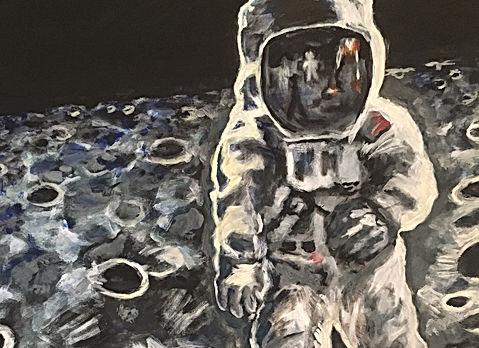 Astronaut Buzz Aldrin Apollo 11 (Acrylic