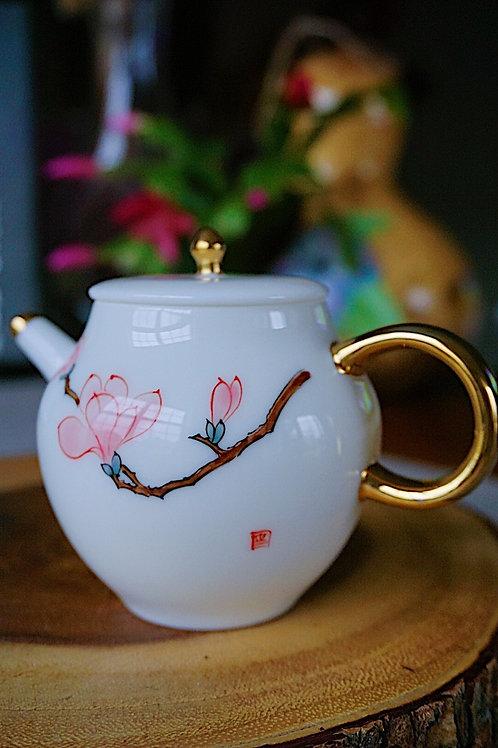Hand Paint Tea Pot